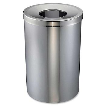 Genuine Joe - GJO58895 30 Gal Stainless Steel Trash Receptacle